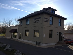 The New Offices at Bank and Rockingham, in Alta Vista, Ottawa.