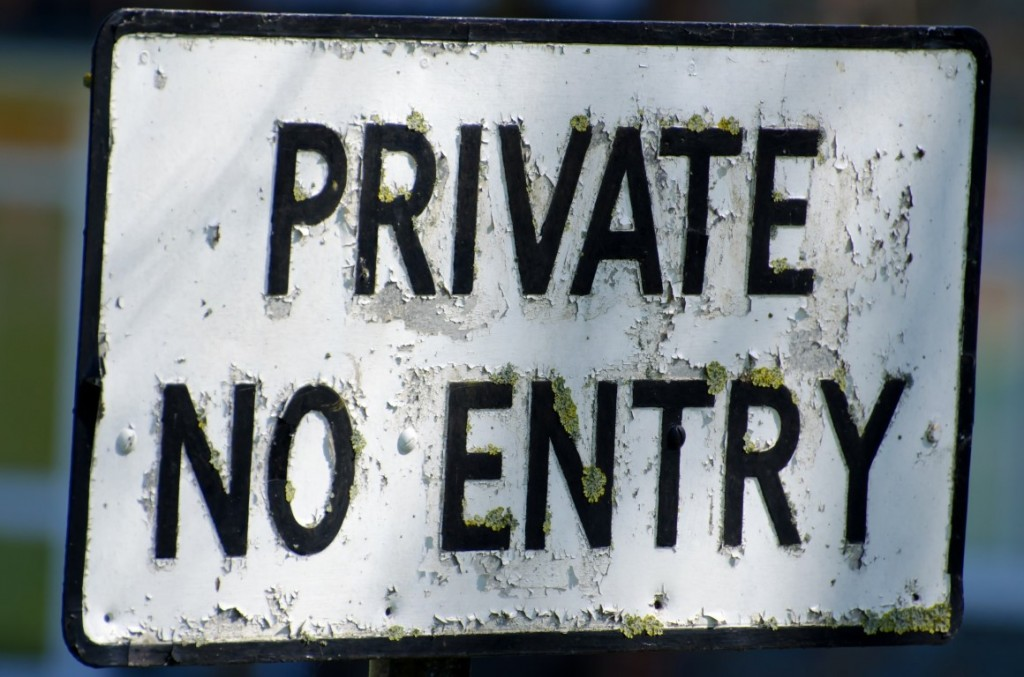 private-no-entry