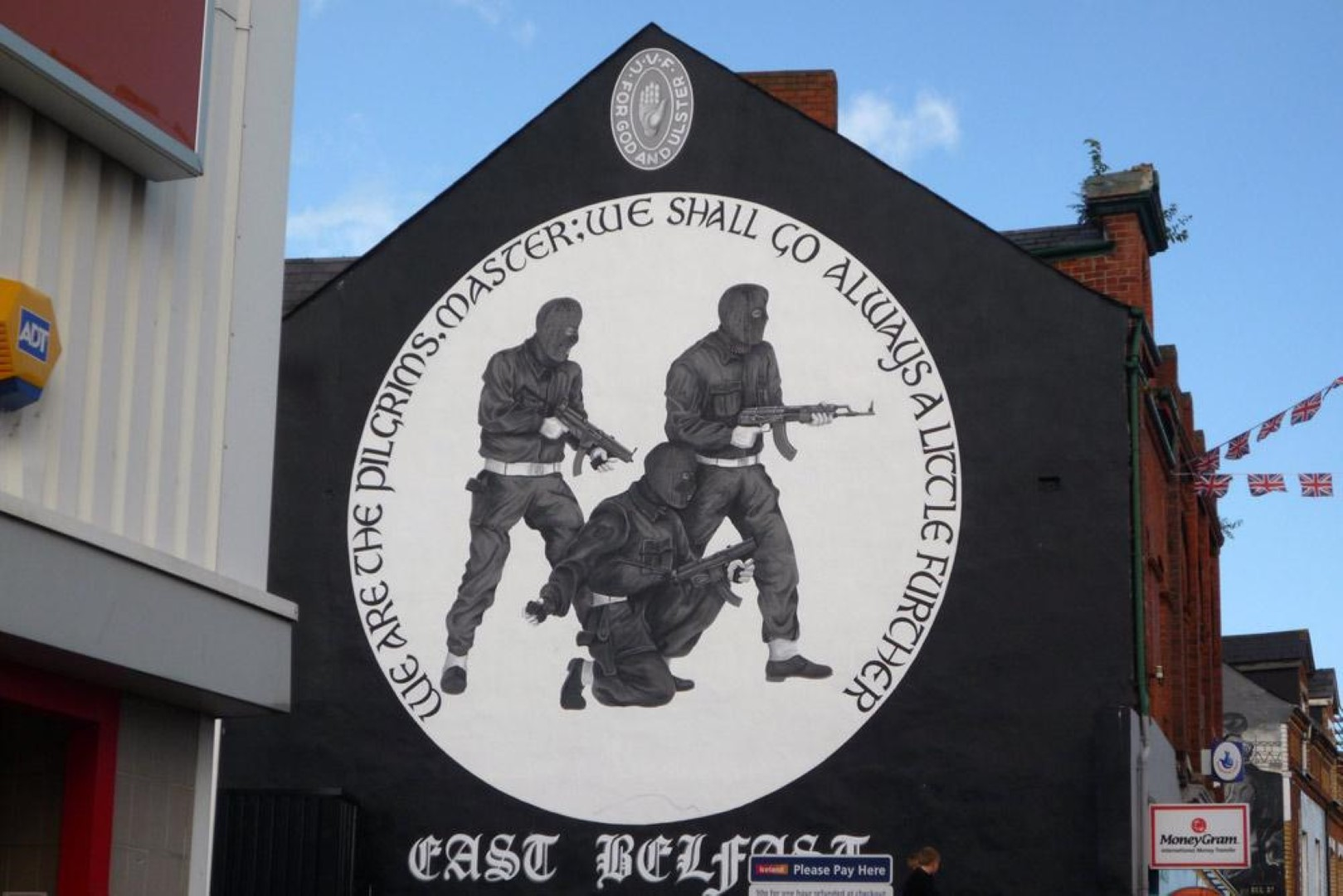Obiter dicta author kathleen killin for Mural belfast
