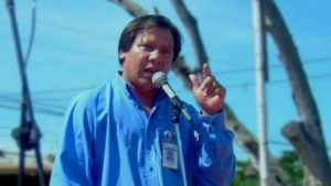 Gustavo Marcelo Rivera, an El Salvadorian activist and co-founder of the Asociación Amigos de San Isidro Cabañas was tortured and murdered in June 2009.  Image source: cultura.gob.sv